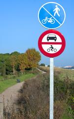 prohibited motorized traffic