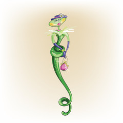 Snake. Vector