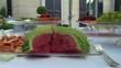 festa catering frutta esotica anguria