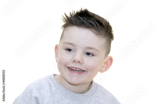 canvas print picture kind Stockfotos Portrait