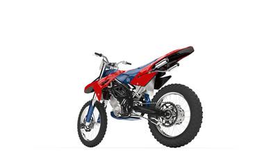 Dirt Bike Red Tail