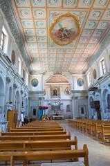 Church of St. Michele Arcangelo. Trecchina. Basilicata. Italy.
