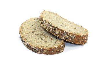 tranches de pain aux céréales