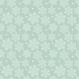Beautiful Christmas seamless pattern with snowflakes