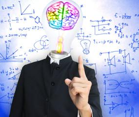 Light bulb head teach