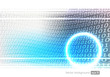 Binary code internet technology background.