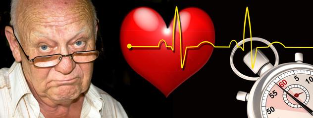 Jede Sekunde zählt - Herzinfarkt