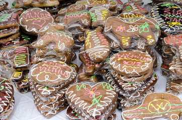 heart round shape ecologic handmade sweets sell