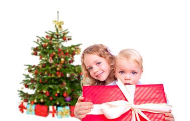 kinder geschenke weihnachtsbaum