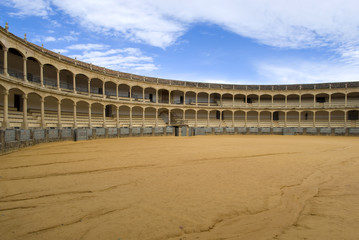 Bullring in Ronda, Andalusia, Spain