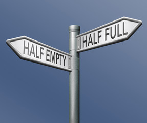 half full or empty