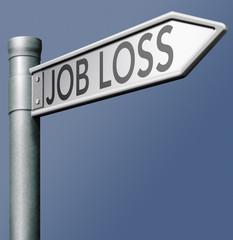 job loss