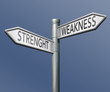 strength or weakness