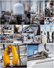Nautical collage