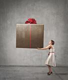 Fototapety Big Present
