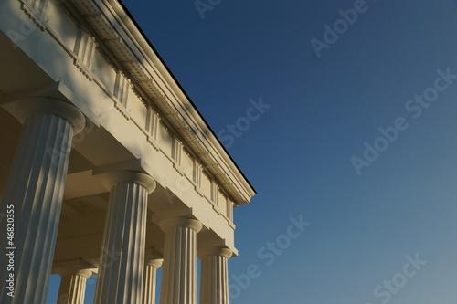 Griechenland in Wien: Tempel als Denkmal