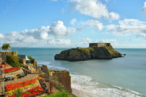 St Catherines Island, Tenby, on a summers day