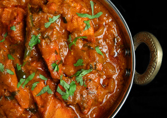 Indian Chicken Jalfrezi Curry Food