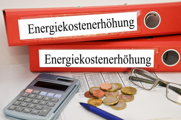 Energiekostenerhöhung