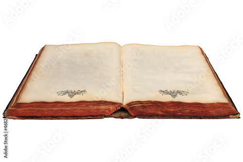 17th Century book with empty pages