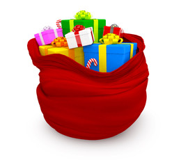 3D Sack of gifts
