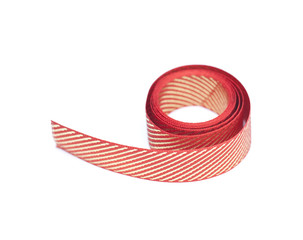 Red and golden ribbon
