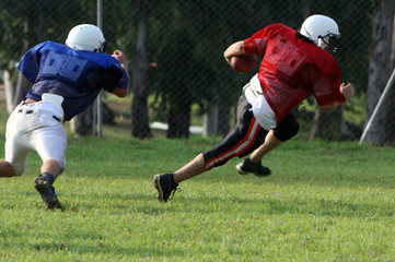 Pro American Football Play