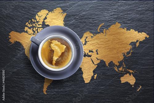 Tasse de Café - Amérique du Sud