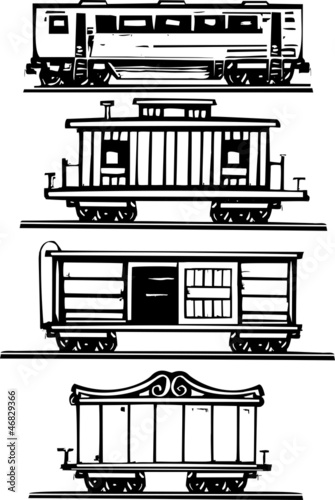 Train Car Collection