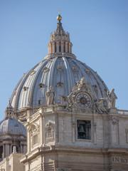 Roma, basilica di S. Pietro (veduta)