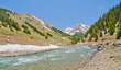 A Mountain Stream in Silverton, in the San Juan Mountains in Col
