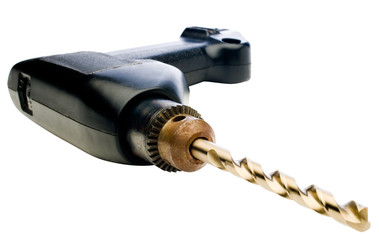 Close-up of hand drill