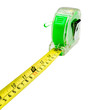 Green tape measure