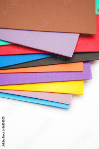 colorful foam sheets