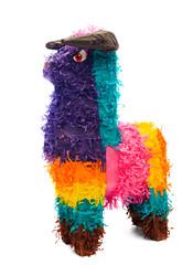 Multi-Colored Pinata Horse