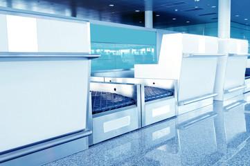 Airport baggage screening equipment