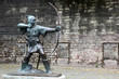 Statue Of Robin Hood at Nottingham Castle, Nottingham, UK - 46842127
