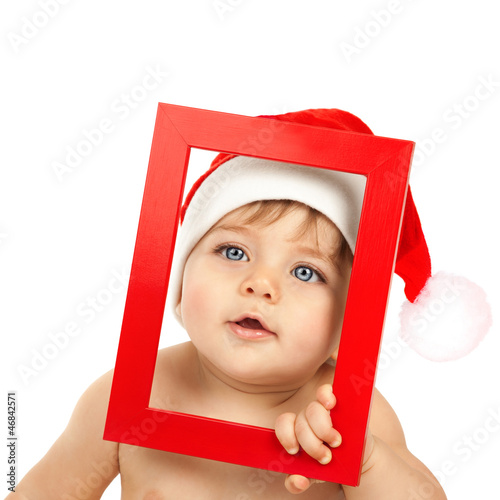 Adorable kid celebrate Christmas