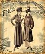 Deux femmes à la mode