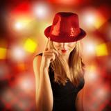 Fototapety Stylish disco girl