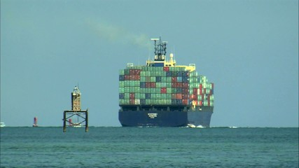 корабль с грузом