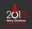 2013 christmas card illustration