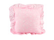 A cute pink cushion for home decoration