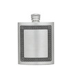 A luxury pewter flask