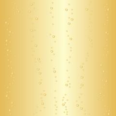 Champagne fond bulles