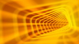 Abstract Yellow Tunnel Video Background
