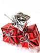 trio de cadeaux de noël
