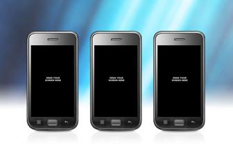 Smartphone blue