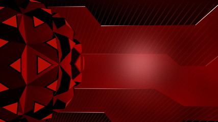Futuristic Shapes Abstract Video Background