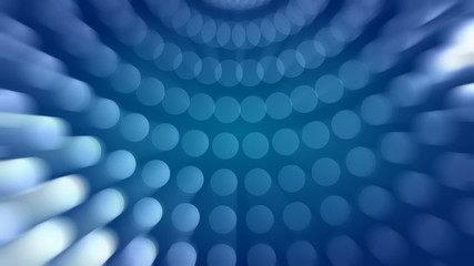 Circles Pattern Blue Abstract Video Background
